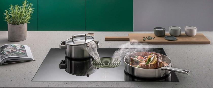 hoe werkt kookplaat met afzuiging