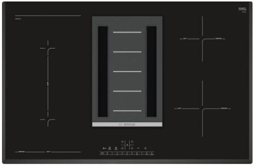 Beste Bosch inductieplaat met afzuiging